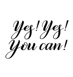 Yes you can encouraging quote vector