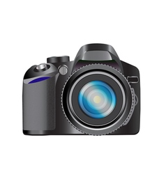 DSLR camera vector image