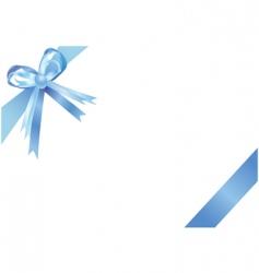 ribbon illustration vector image vector image
