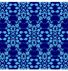 background with seamless pattern six vector image