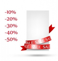 sale retail vector image vector image