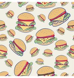 Cheeseburgers vector