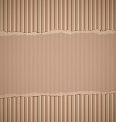 Corrugated cardboard Stock vector