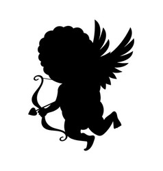 Cupid icon isolated on white background vector