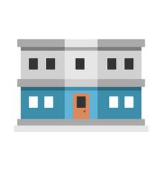 Customs department flat vector