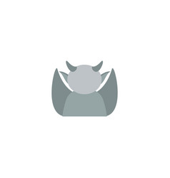 Flat icon gargoyle element of vector