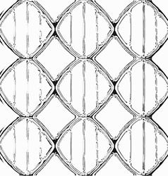 liquid dna seamless pattern vector image