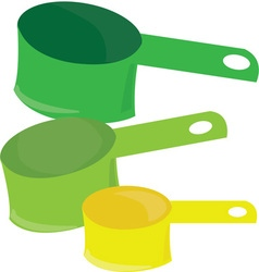 Measuring Cups vector image