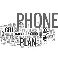 Which wireless plan and phone should i buy text vector