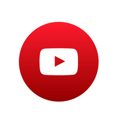 youtube icon vector image