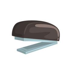 Black office stapler office tool cartoon vector