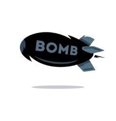 Bomb Cartoon vector image vector image
