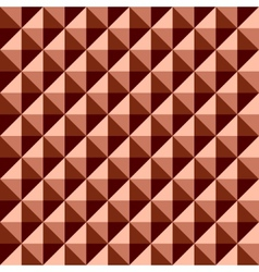 Minimalistic red pattern vector image vector image