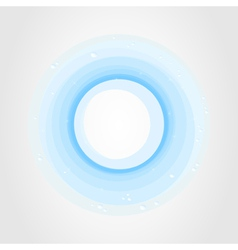 blue circle vector image vector image