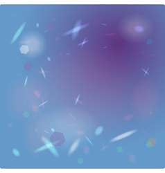 Abstract blue background with highlights vector