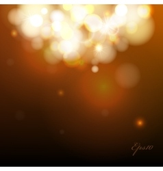Abstract Bokeh background vector