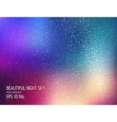 - deep sky night vector image