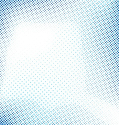 Dotted blue abstract retro background vector image