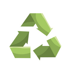 reduce recycle and reuse environment symbol vector image