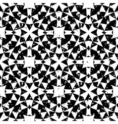 Seamless geometric pattern in modern hipster style vector