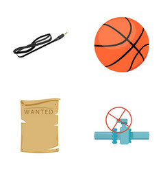 Technology sport and other web icon in cartoon vector