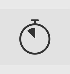 Timer icon stop watch pictogram stopwatch vector