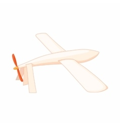 Glider icon in cartoon style vector image