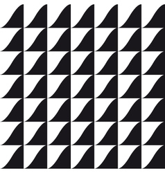 tile wave pattern background vector image