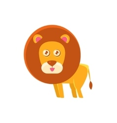 Lion Toy Exotic Animal Drawing vector image