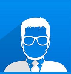 male avatar profile vector image