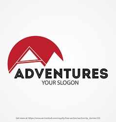 Adventures Logo vector