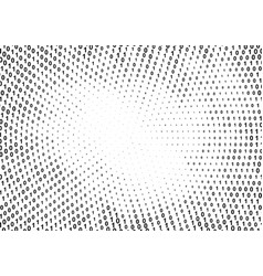 Binary computer code halftone pattern vector