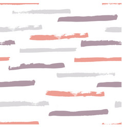 grunge stripes pattern vector image