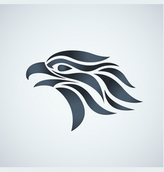 Hawk logo icon vector
