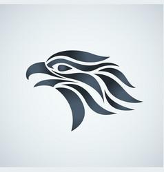 hawk logo icon vector image