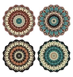 Mandala design element 1 vector