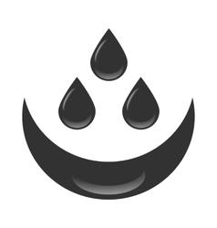 Petroleum oil drops vector