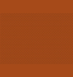 red brick wall background bricks texture seamless vector image