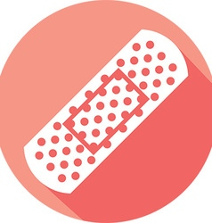 Adhesive Bandage Icon vector image vector image