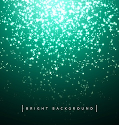 Christmas background holiday lights vector image