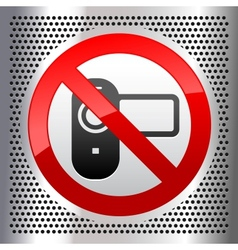 camcorder vector image vector image
