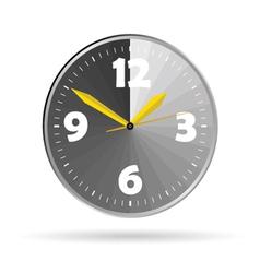 clock color vector image