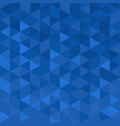 geometric modern background with blue mosaic vector image