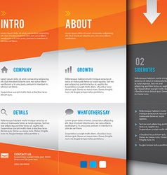 Modern and simple multipurpose design layout vector