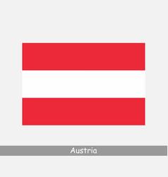 National flag austria austrian country flag vector