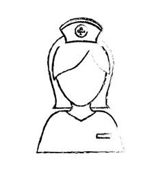 Nurse medical profession vector