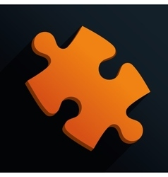 Puzzle design vector image vector image