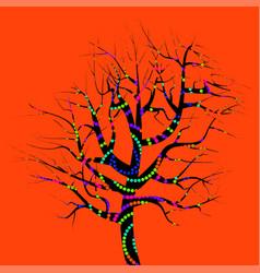 Single magic tree vector
