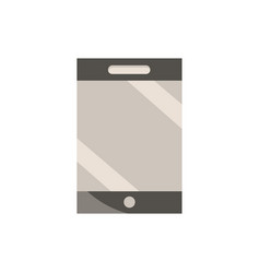 smartphone office work business equipment icon vector image
