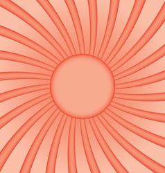 Stylized sunny background vector image